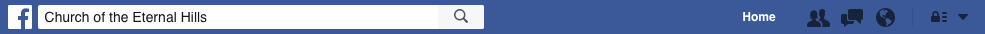 Facebook bar